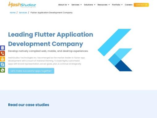 Flutter Application Development Company
