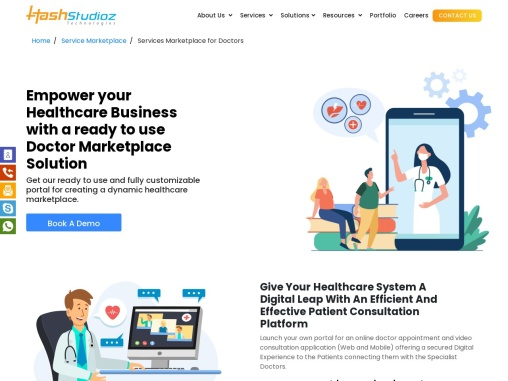 Service Marketplace for Doctors