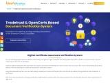 Blockchain Document Verification System