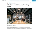 Types of Seats You Can Choose From a Coworking Space