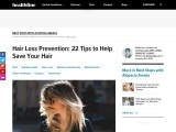 Hair Loss Prevention: 22 Things You Can Do to Stop Your Hair Loss