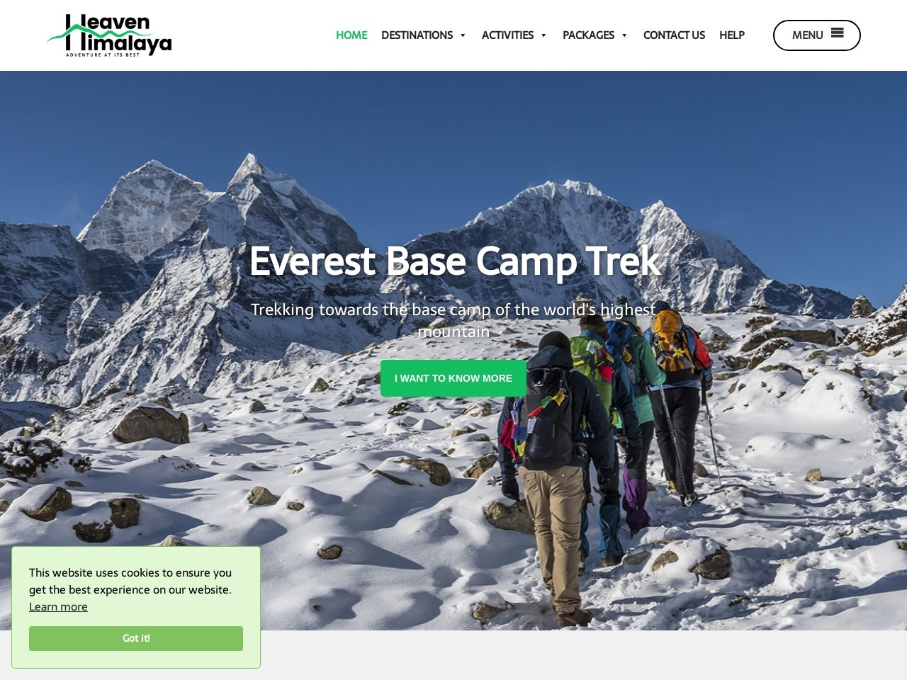 Mera Peak Climbing in Nepal in 2021