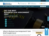 Get the best Business Law Assignment Help