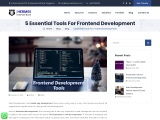 5 Essential Tools For Frontend Development