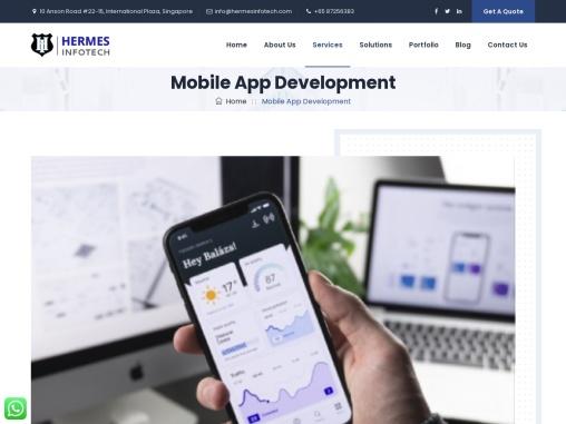 Mobile App Development Singapore   App Developer