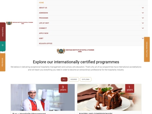 Study with HIHT World the Best Hotel Management Institute in India