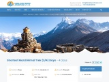 Short Mardi Himal Trek 3/4 Days – Himalayan Frozen Adventure