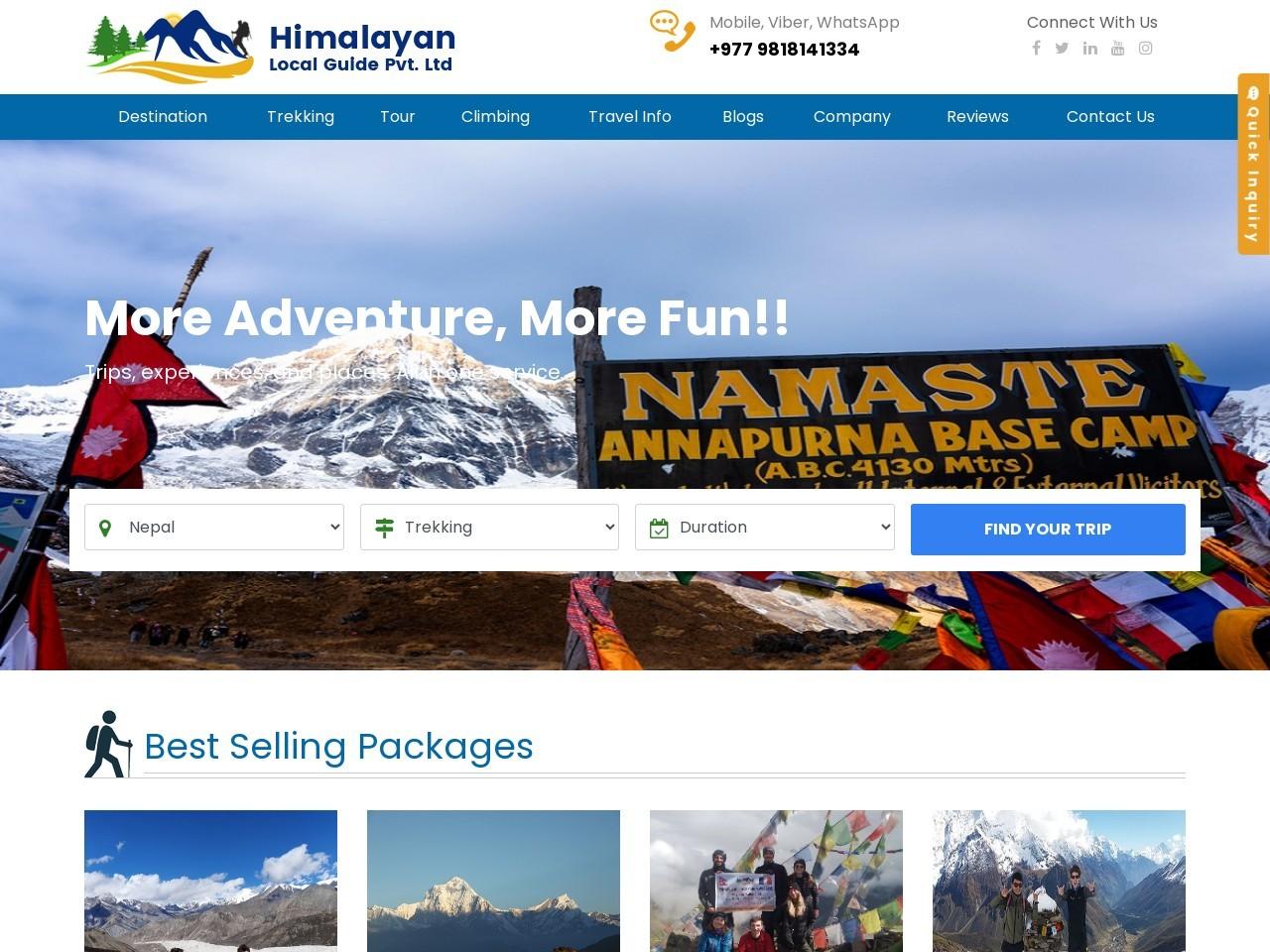 Langtang valley Trek – 10 Days