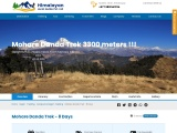 Mohare Danda Trek in Nepal Himalayas region