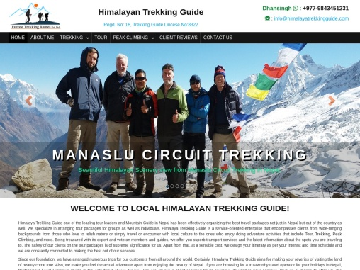 The Himalayan trekking in Nepal is the best vacation