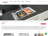 Check Stainless Steel Sink Price & Design by Hindware Kitchen Ensemble