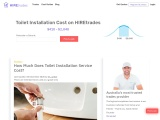 2021 How Much Does it Cost to Install a Toilet? | HIREtrades