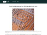 2021 Cost to Install Underfloor Heating System   HIREtrades