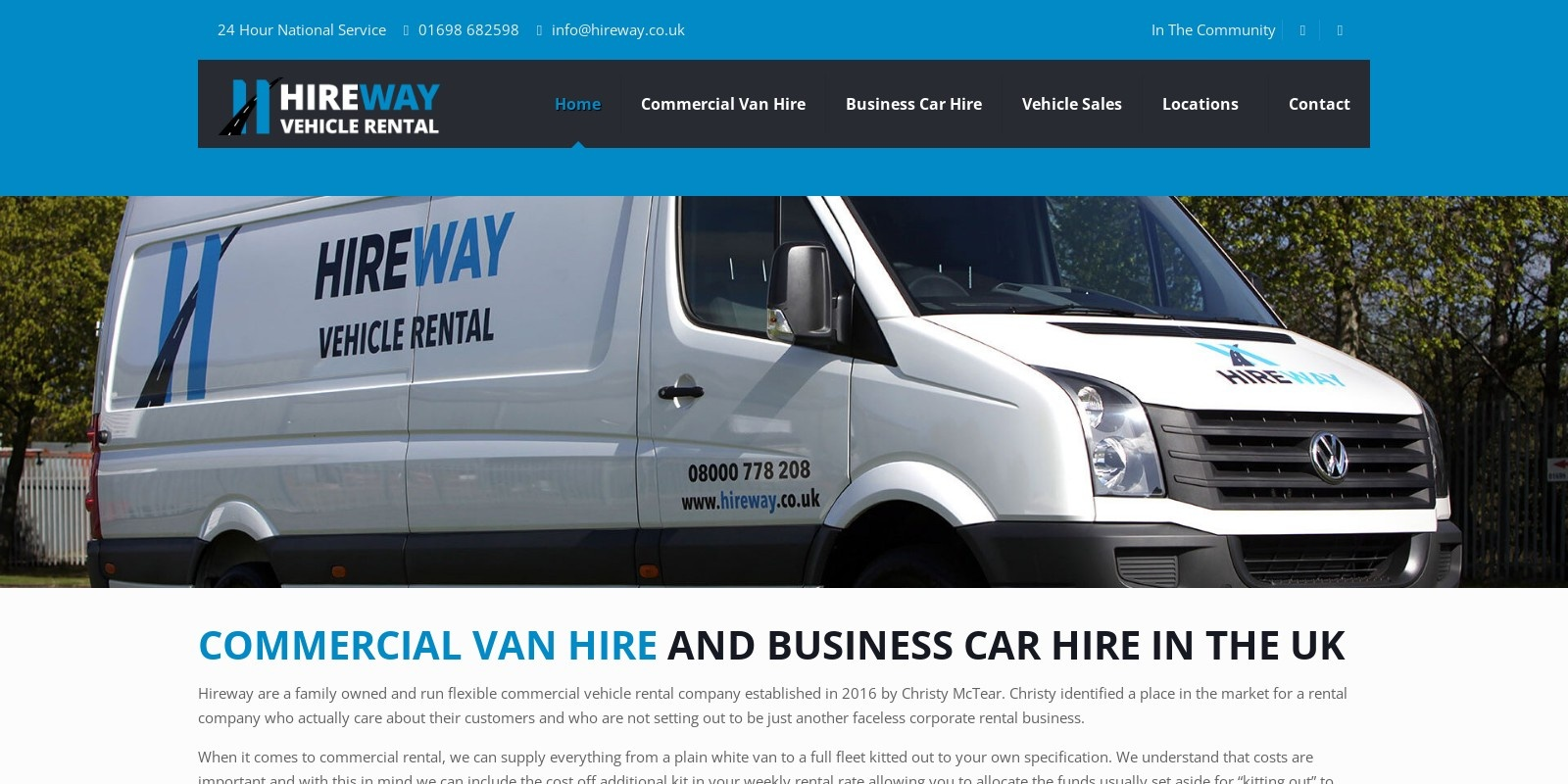 Preview of https://www.hireway.co.uk