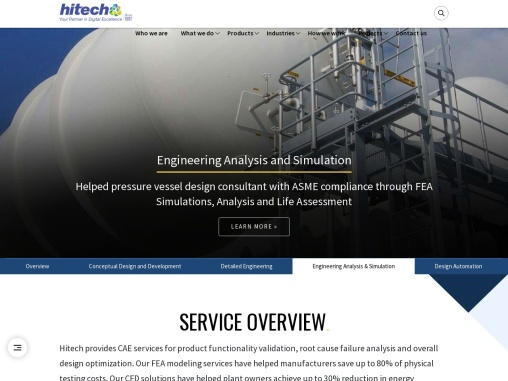 CFD Analysis and Modeling Services for Product Design