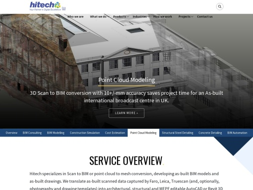 Point Cloud Modeling Services | Scan to BIM Services