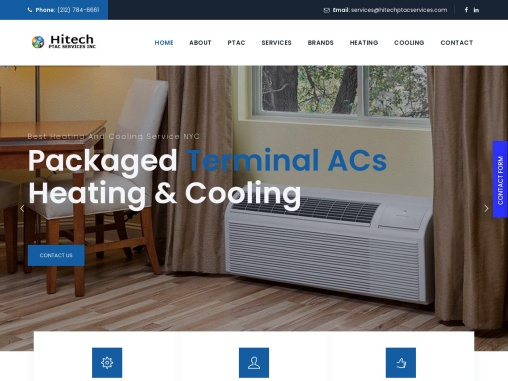New York's PTAC Installation Services. Air Conditioner Furnace, Repair and Maintenance
