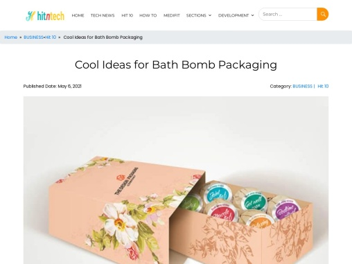 Bath Bomb Packaging Idea | Know how