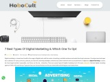 7 Best Types Of Digital Marketing & Which One To Opt