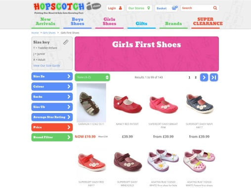 Baby girl shoes | Girls first shoes | Hopscotch Shoes
