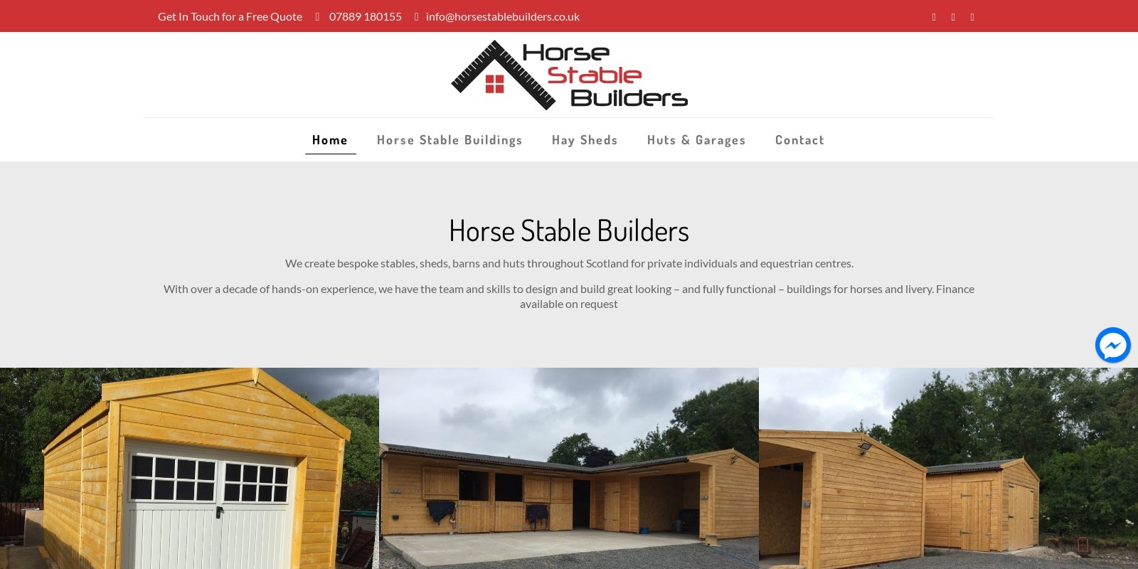 Preview of https://www.horsestablebuilders.co.uk