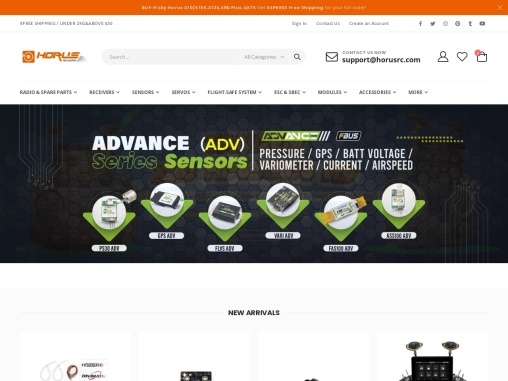 Online Horus RC Hobbies Shop – FrSky RC Shopping