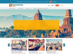 Hotelsclick.com UK screenshot