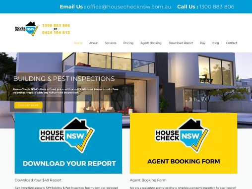 Building and Pest Inspection Sydney – HouseCheck NSW