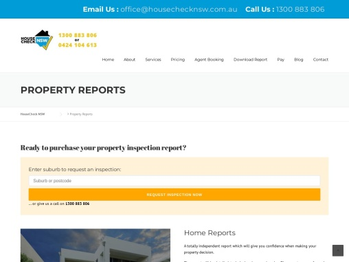Building Inspection Cost | HouseCheckNSW