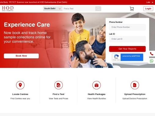 Diagnostic Centre & Path Lab in Delhi- HOD