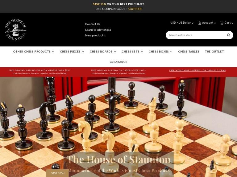 House of Staunton screenshot