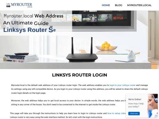 Access Linksys Smart Wi-Fi via Local Access