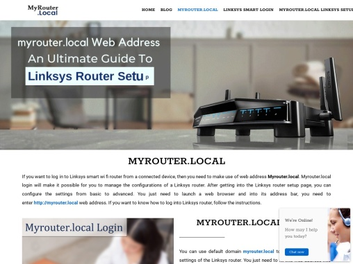 HOW TO LOGIN TO THE MYROUTER.LOCAL ADDRESS
