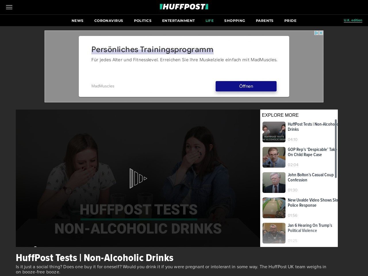 HuffPost Tests | Non-Alcoholic Drinks