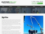 High Rise Building Concrete Pumping