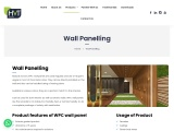 Buy Wall Panelling Online by HVT Interiors