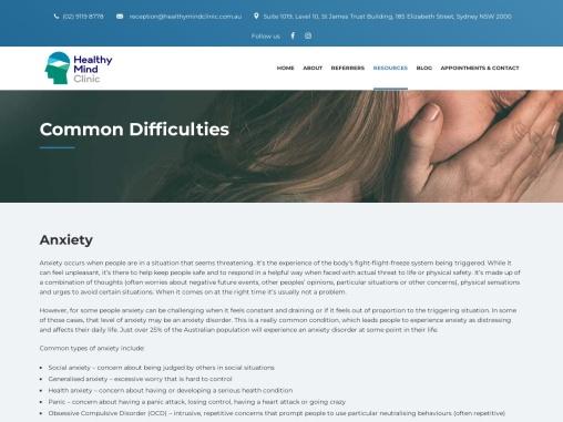 Mood & Anxiety Treatment Sydney