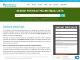Doctors Email List   Doctors Mailing Database   Doctors Contact List
