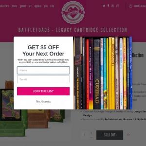 iam8bit | Battletoads - Legacy Cartridge Collection NES - iam8bit
