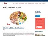 FDA Certification Cost in India