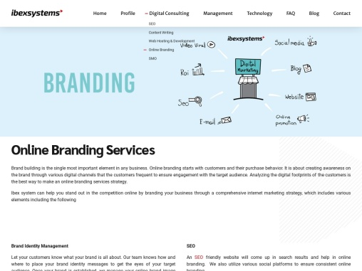 Online Branding Services & Agency in Dubai | Ibex Systems