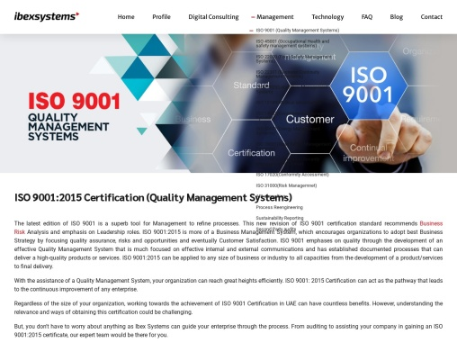 ISO 9001 Certification in UAE – Quality Management System