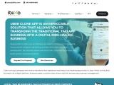 Uber Clone App | Uber Clone App Development | Taxi App Clone – Ibiixo Technologies