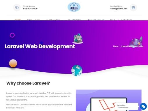 Laravel Development Services – Full Stack Expert Solutions