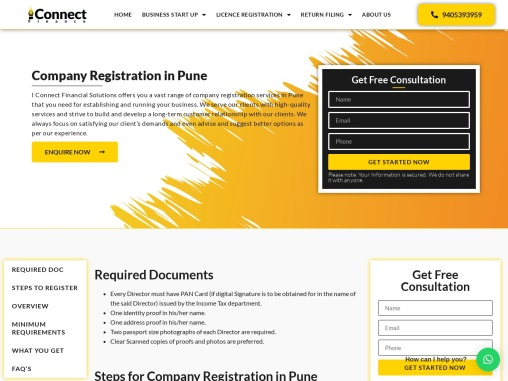 Company Registration in Pune | Company Registration Consultants in Pune