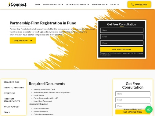 Partnership Firm Registration in Pune