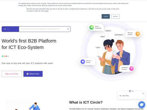 B2B Platform for ICT Channel – ICT Circle