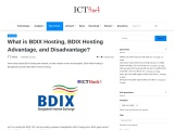 What is BDIX Hosting, BDIX Hosting Advantage, and Disadvantage?