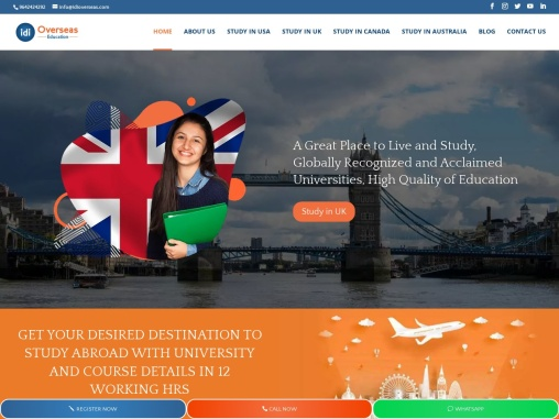 overseas educational consultants in himayath nagar