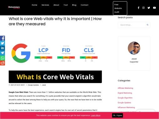 What is core Web vitals why it is important | How are they measured